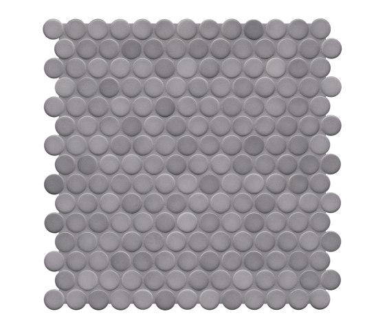 Loop | diamond grey glossy by AGROB BUCHTAL | Ceramic mosaics