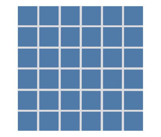 Plural | medium azure by AGROB BUCHTAL | Ceramic mosaics
