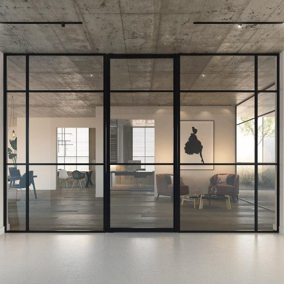 Portapivot 5730 | Single door + fixed partitions by PortaPivot | Internal doors