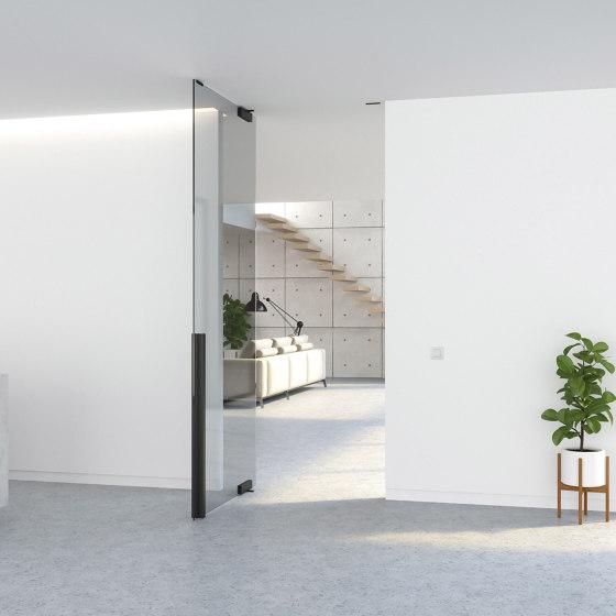 Portapivot GLASS NL by PortaPivot | Internal doors