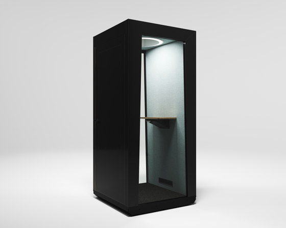 Module Solo black by MODULE | Telephone booths