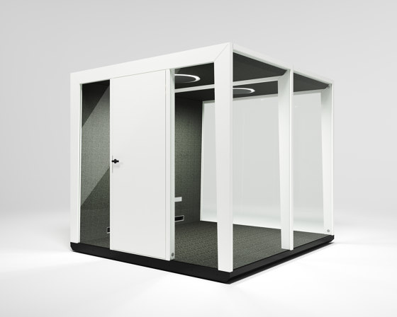 Module Team #3 white by MODULE | Office Pods