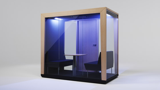 Module hDuo by MODULE   Office Pods