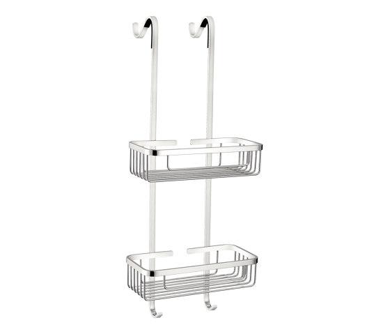 glass door handles & door stoppers | Double rectangular sponge dish by SANCO | Sponge baskets