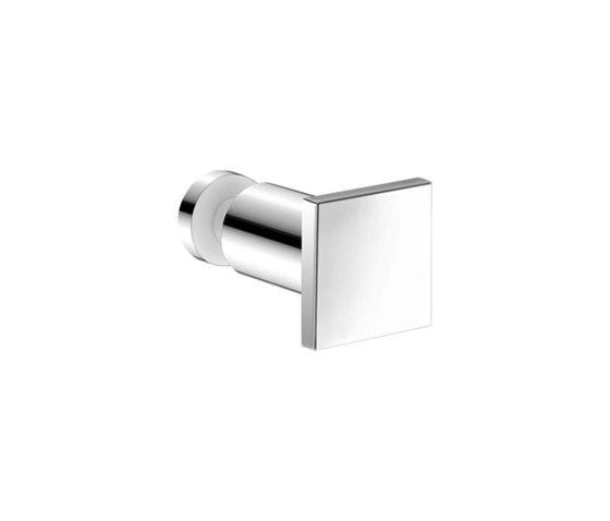glass door handles & door stoppers | Glass single bath robe hook by SANCO | Towel rails