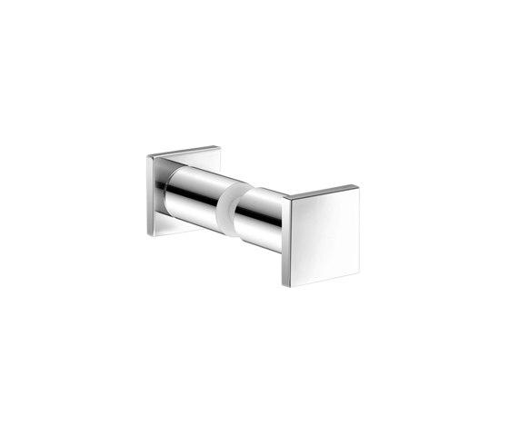 glass door handles & door stoppers | Double glass hook by SANCO | Towel rails