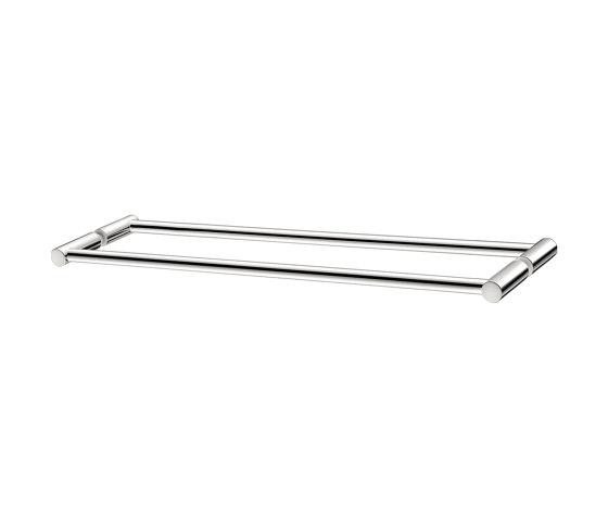 glass door handles & door stoppers   Double glass door handle by SANCO   Pull handles for glass doors