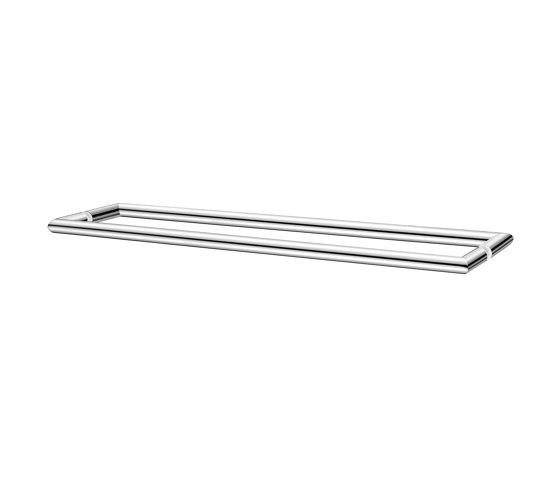 glass door handles & door stoppers | Double glass door handle by SANCO | Pull handles for glass doors