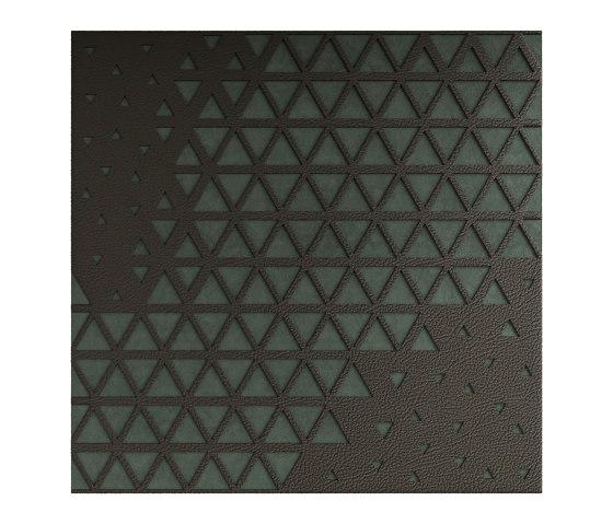 DUO City Voronof Watersuede Sage by Studioart | Leather tiles