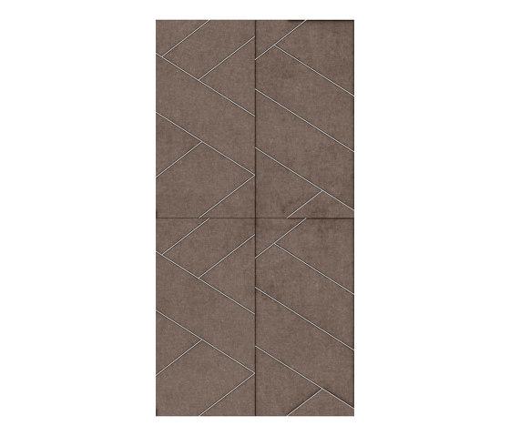 LE MANS Layout C Velluto Certosino by Studioart   Leather tiles