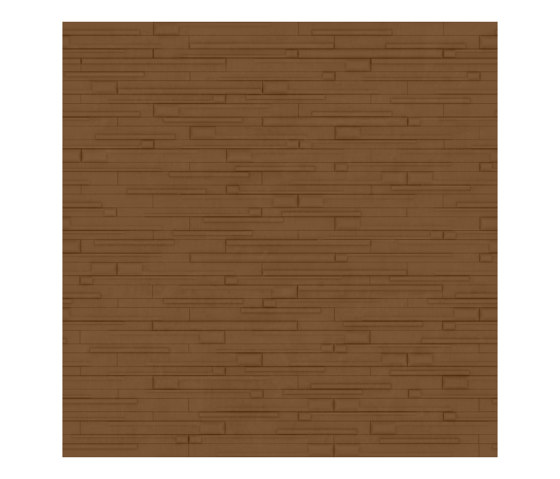 WOODS Natural Tan Layout 1 by Studioart | Leather tiles
