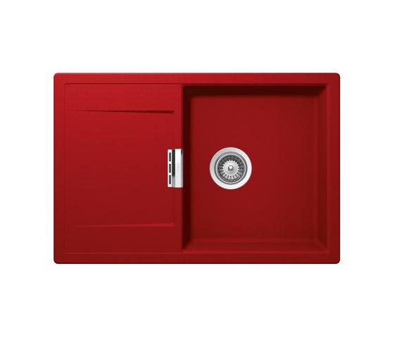Mono D-100 - Rouge by Schock | Kitchen sinks