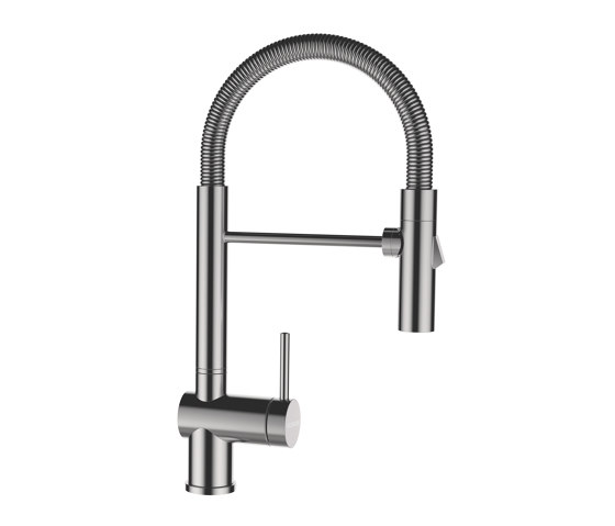 Sina SB - Stainless steel by Schock | Kitchen taps