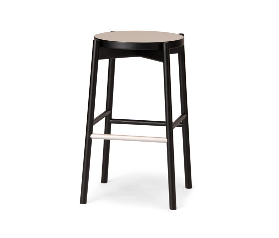 Kotan High Stool - Linoleum by Conde House   Bar stools