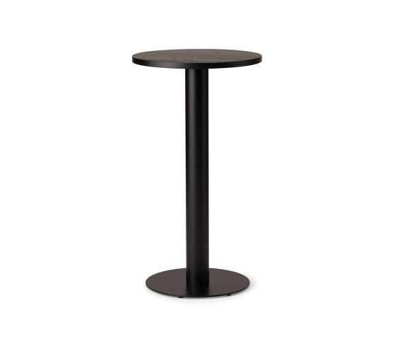 Kotan Round High Table - Wood by Conde House | Standing tables