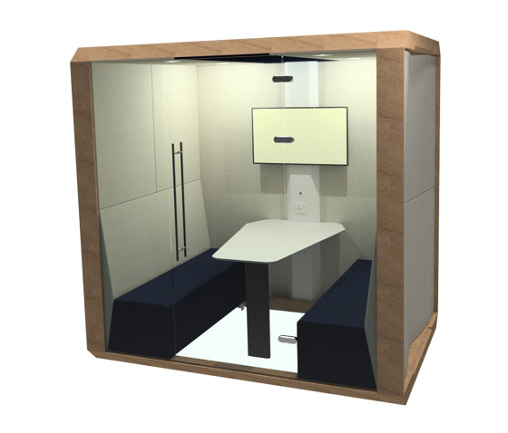 Fully Enclosed Meeting Box by The Meeting Pod | Office Pods