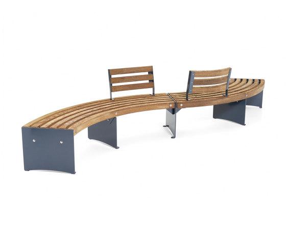 Via backrest by Vestre | Benches