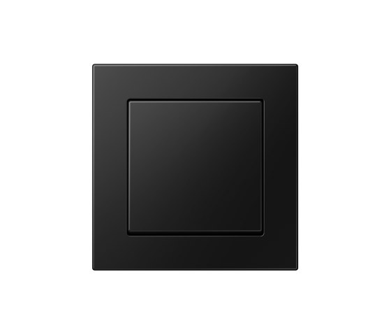 A 550   switch matt graphite black by JUNG   Push-button switches