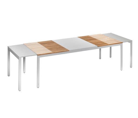 Sutra | Large extendable table di EGO Paris | Tavoli pranzo