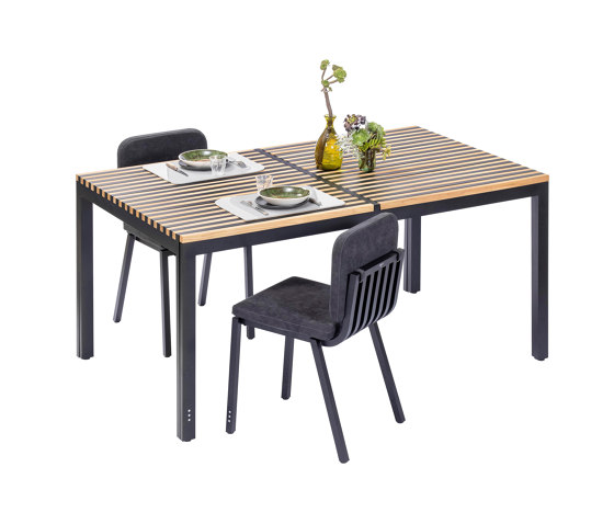 Sutra | Medium extendable table di EGO Paris | Tavoli pranzo