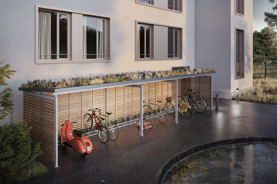 Techflat® by Velopa | Bicycle shelters
