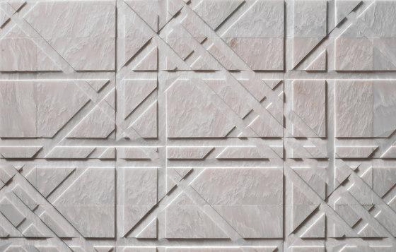 Pietre Incise | Tartan von Lithos Design | Naturstein Platten