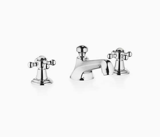 Madison - Three-hole basin mixer with pop-up waste by Dornbracht   Wash basin taps