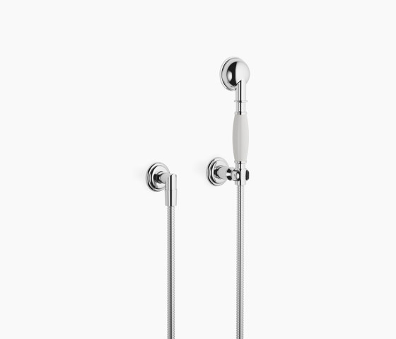 Modern Showers   Madison - Hand shower set with individual rosettes by Dornbracht   Shower controls