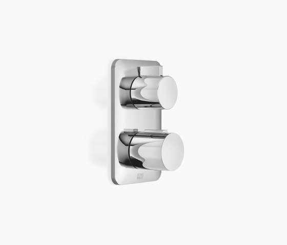 Modern Showers | Lissé - Concealed thermostat with two function volume control by Dornbracht | Shower controls