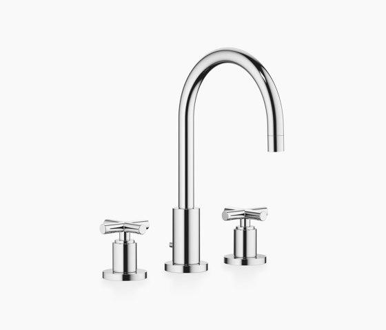 Tara. - Three-hole basin mixer with pop-up waste by Dornbracht   Wash basin taps