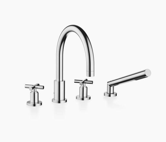 Tara. - Bath shower set for bath rim or tile edge installation by Dornbracht | Bath taps