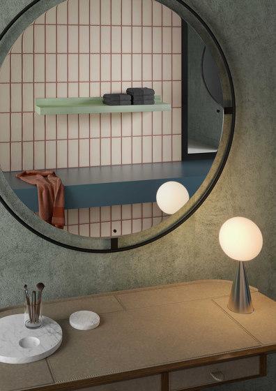 Rift/reverse by TUBES | Bath shelves