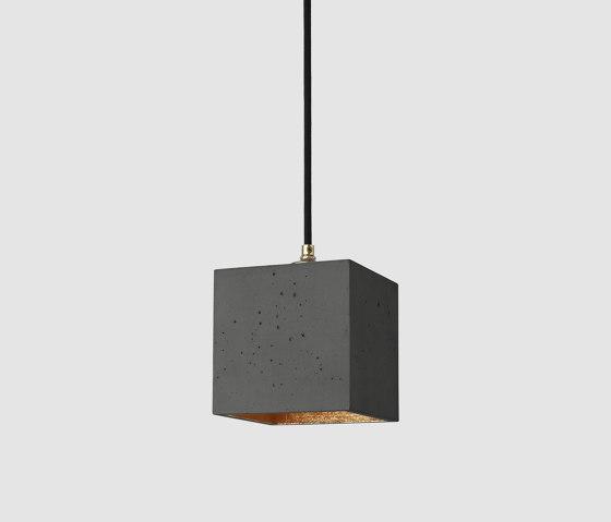 [B1] dark Concrete & Gold - Silver - Copper by GANTlights   Suspended lights