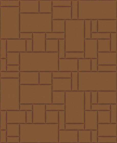 PATTERN 6 City Cognac by Studioart | Leather tiles