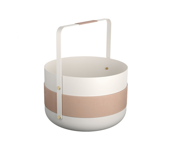 Emma Basket | Blanc by Eldvarm | Storage boxes