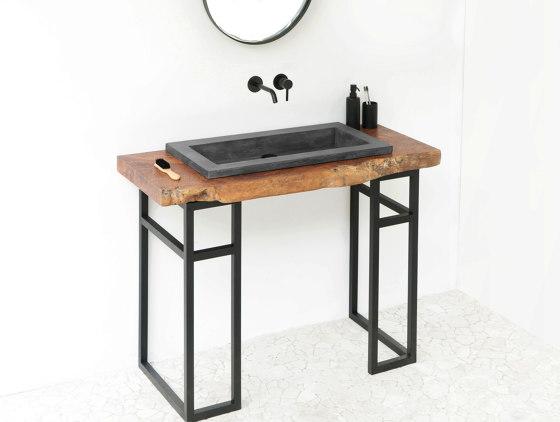 Bes Dusk Grey Concrete Basin - Sink - Vessel - Washbasin by ConSpire | Wash basins