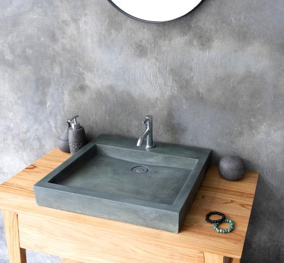 Bologna Copper Green Concrete Basin - Sink - Vessel - Washbasin by ConSpire   Wash basins