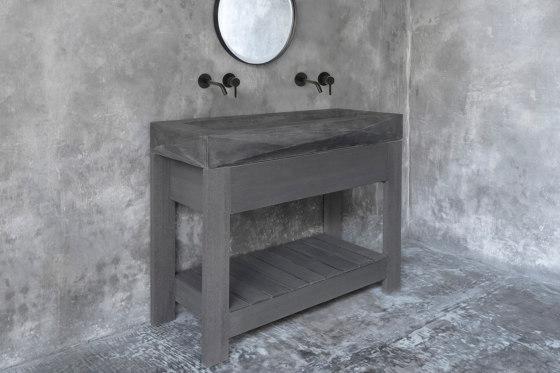 Diamond Grande Dusk Grey Concrete Sink - Basin - Washbasin by ConSpire   Wash basins