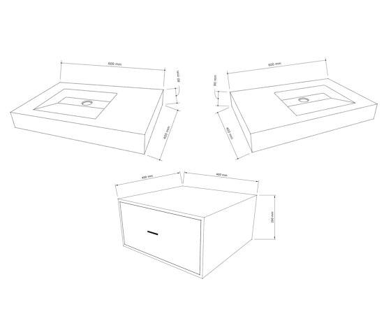 Double Dutch Dusk Grey Concrete Basin - Sink - Vessel - Washbasin by ConSpire | Wash basins