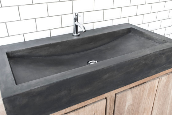Horizon Dusk Grey Concrete Basin - Sink - Vessel - Washbasin by ConSpire | Wash basins