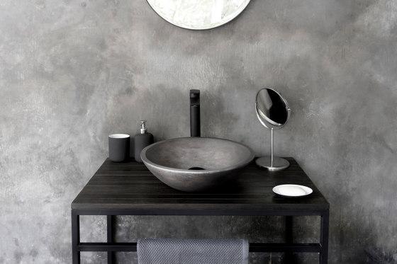 Messina Dusk Grey Concrete Basin - Sink - Vessel - Washbasin by ConSpire | Wash basins