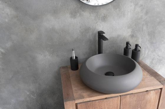 Milano Dark Grey Concrete Basin - Sink - Vessel - Washbasin by ConSpire   Wash basins