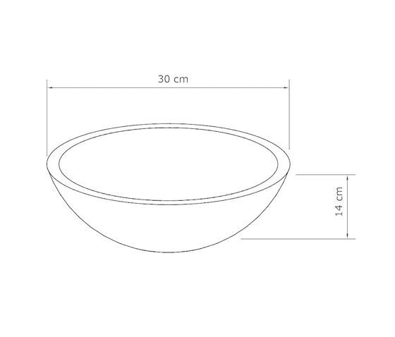 Palermo Dusk Grey Concrete Basin - Sink - Vessel - Washbasin by ConSpire | Wash basins