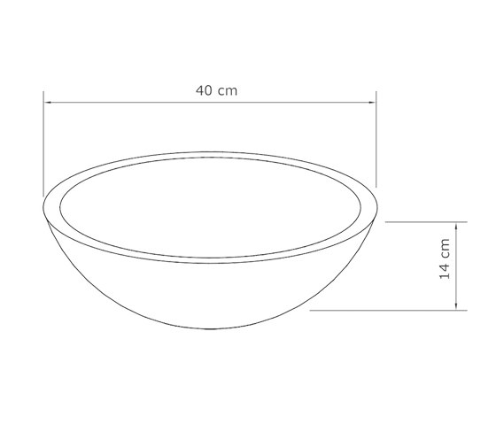 Palermo Grande Vintage Brown Concrete Basin - Sink - Vessel - Washbasin by ConSpire   Wash basins