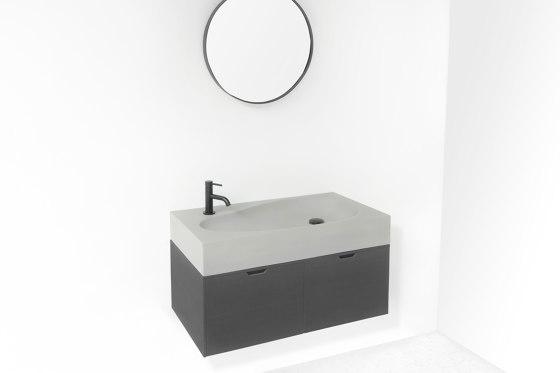 Sol Light Grey Concrete - Bathroom Sink by ConSpire | Wash basins