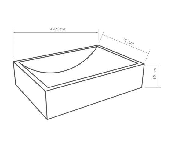 Torino Dusk Grey Concrete Basin - Sink - Vessel - Washbasin by ConSpire   Wash basins