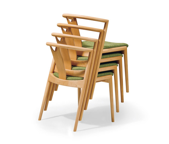 Mark stacking chair by Conde House | Chairs