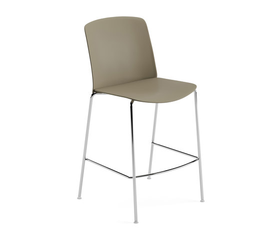 Mixu   Counter stool 4 legs stackable by Arper   Bar stools