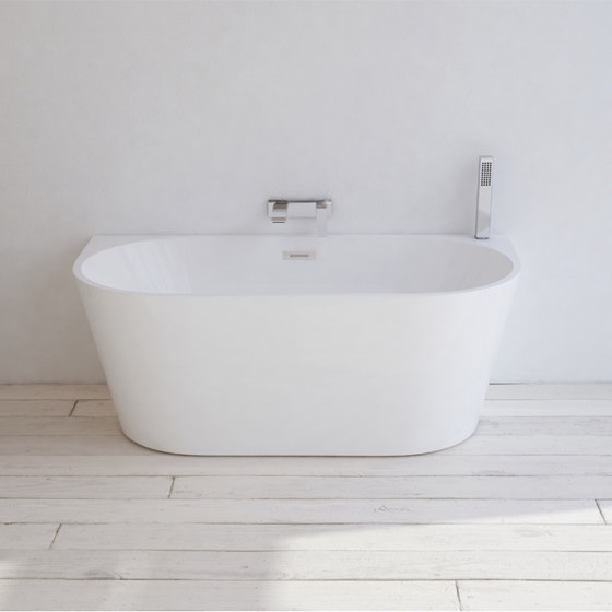 ACRYLIC   York Freestanding Acrylic Bathtub - 170cm by Riluxa   Bathtubs