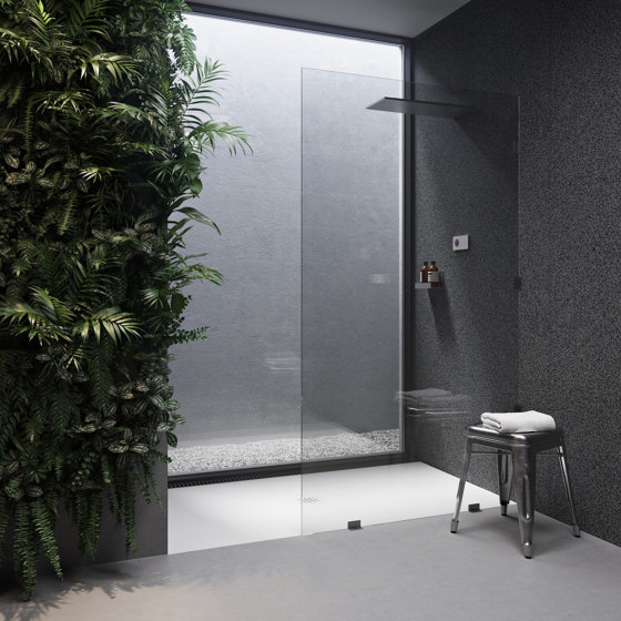 CORIAN®   Liege DuPont™ Corian® Ultra Slim Shower Tray - Made-to-measure by Riluxa   Shower trays